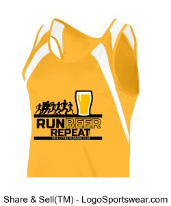 Mens Singlet Design Zoom